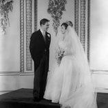 La Princesa Margarita y Anthony Armstrong-Jones en su boda