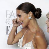 Paula Echevarría muy emocionada en su fiesta de su 40 cumpleaños