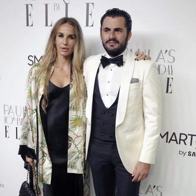 Carola Baleztena y Emiliano Suárez en la fiesta del 40 cumpleaños de Paula Echevarría