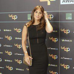 Tamara Falcó en la cena de los nominados a los Premios 40 Pricipales 2017
