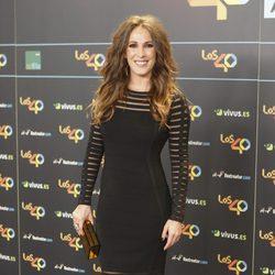 Malú en la cena de los nominados a los Premios 40 Pricipales 2017