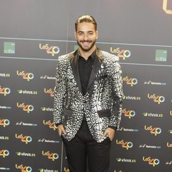 Maluma en la cena de los nominados a los Premios 40 Pricipales 2017