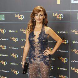 Mónica Cruz en la cena de los nominados a los Premios 40 Pricipales 2017