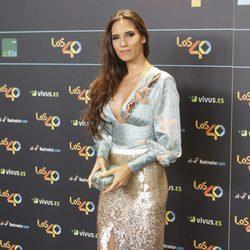 India Martínez en la cena de los nominados a los Premios 40 Pricipales 2017