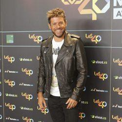 Pablo López en la cena de los nominados a los Premios 40 Pricipales 2017