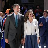 Los Reyes Felipe y Letizia en la inauguración del curso universitario en Salamanca