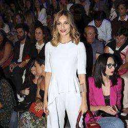 Norma Ruiz en el front row desfile de Dolores Cortés e Ion Fiz en Madrid Fashion Week primavera/verano 2018