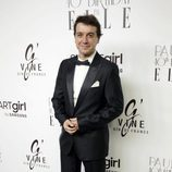 Javier Viegas en la fiesta del 40 cumpleaños de Paula Echevarría