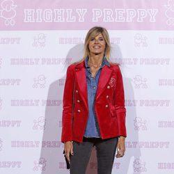 Arancha de Benito en el desfile de Highly Preppy en la Madrid Fashion Week 2017