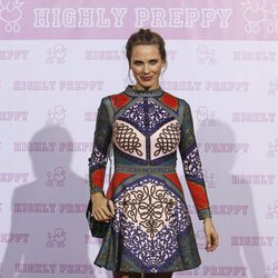 Vanesa Romero en el desfile de Highly Preppy en la Madrid Fashion Week 2017