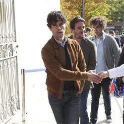 Miguel Abellán en el homenaje póstumo a Ángel Nieto en Madrid