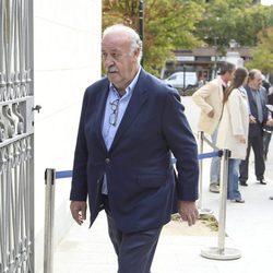 Vicente del Bosque en el homenaje póstumo a Ángel Nieto en Madrid