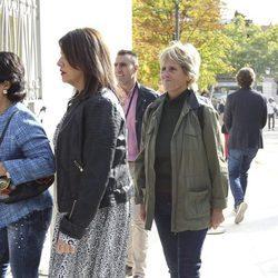 Mercedes Milá en el homenaje póstumo a Ángel Nieto en Madrid