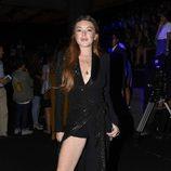 Lindsay Lohan en el desfile de Malne en la Madrid Fashion Week 2017