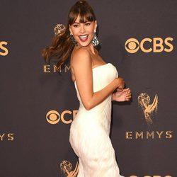 Sofía Vergara espectacular en la alfombra roja de los Premios Emmy 2017