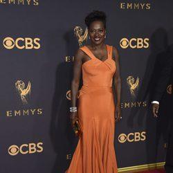 Viola Davis en la alfombra roja de los Premios Emmy 2017