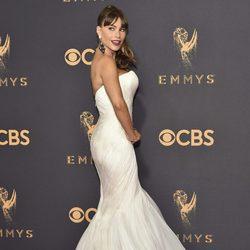 Sofía Vergara en la alfombra roja de los Premios Emmy 2017