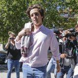 Froilán acude al centro de estudios en Madrid
