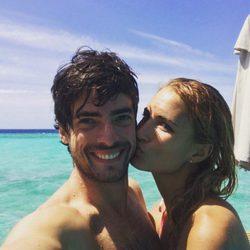 Alba Carrillo de vacaciones con su novio David Vallespín
