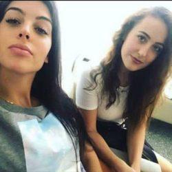 Georgina Rodríguez y su hermana Ivana Rodríguez