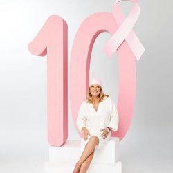 Terelu Campos en la décima campaña de Ausonia contra el cáncer