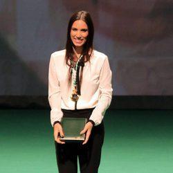 India Martínez en la entrega de las Medallas de Andalucía 2017