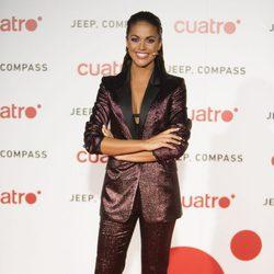 Lara Álvarez en la fiesta de Cuatro para presentar la temporada 2017