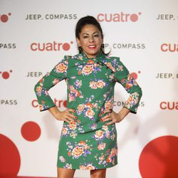 Cristina Medina en la fiesta de Cuatro para presentar la temporada 2017