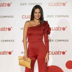 Cecilia Gómez en la fiesta de Cuatro para presentar la temporada 2017