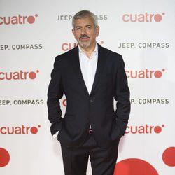 Carlos Sobera en la fiesta de Cuatro para presentar la temporada 2017