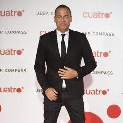 Carlos Lozano en la fiesta de Cuatro para presentar la temporada 2017