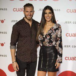 Lidia Torrent y Matías Roumer en la fiesta de Cuatro para presentar la temporada 2017