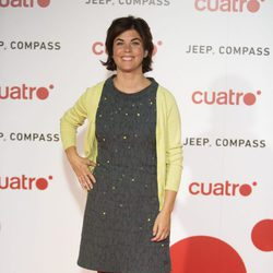 Samanta Villar en la fiesta de Cuatro para presentar la temporada 2017