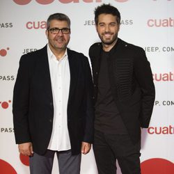 Florentino Fernández y Dani Martínez en la fiesta de Cuatro para presentar la temporada 2017