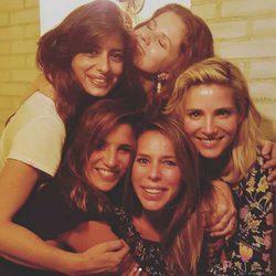 Elsa Pataky, Lucía Jiménez, Marian Aguilera, Aurora Carbonell y Athenea Mata se reencuentran en Madrid