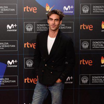 Jon Kortajarena en la gala de inauguración del Festival de San Sebastián 2017