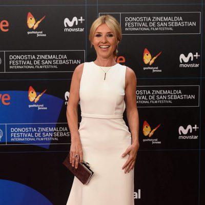 Cayetana Guillén Cuervo en la gala de inauguración del Festival de San Sebastián 2017