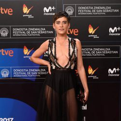 María León en la gala de inauguración del Festival de San Sebastián 2017