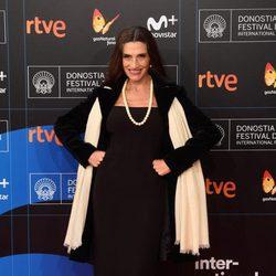 Ángela Molina en la gala de inauguración del Festival de San Sebastián 2017
