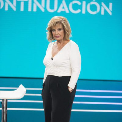 María Teresa Campos posa en 'El Debate de GH Revolution'