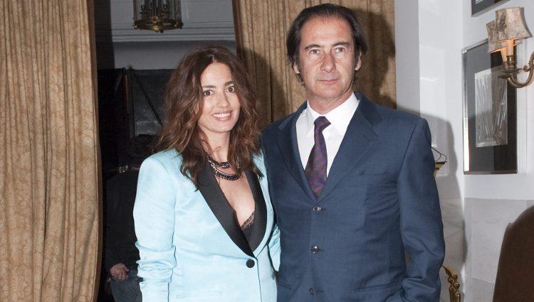 Cristóbal Martínez-Bordiú y su mujer José Toledo