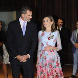 Los Reyes Felipe y Letizia en la inauguración del Palacio de Congresos de Palma