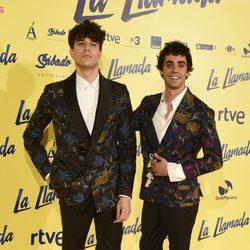Javier Calvo y Javier Ambrossi en el estreno de 'la llamada'