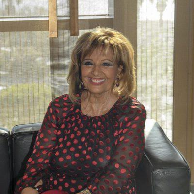 María Teresa Campos en el homenaje que le hicieron en Málaga como hija predilecta de la ciudad