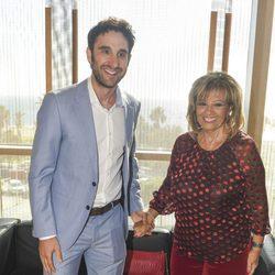 Dani Rovira y María Teresa Campos en su nombramiento como Hijos Predilectos de Málaga