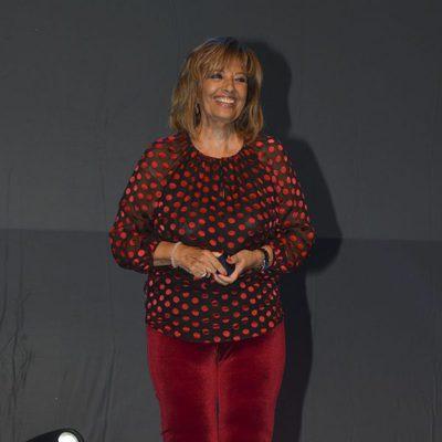 María Teresa Campos, feliz al ser nombrada Hija Predilecta de Málaga