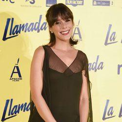 Blanca Cuesta en el estreno de la película 'La Llamada'