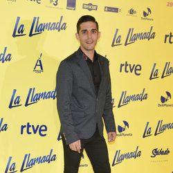 Víctor Elías en el estreno de la película 'La Llamada'