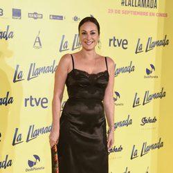 Ana Milán en el estreno de la película 'La Llamada'