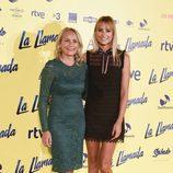 Alba Carrillo y Lucía Pariente en el estreno de la película 'La Llamada'